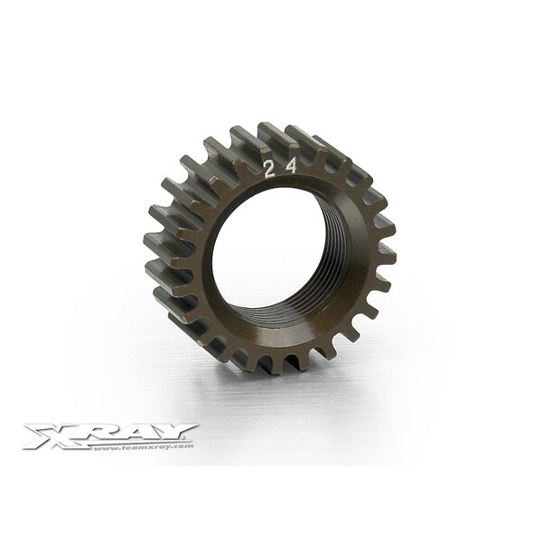 XCA ALU 7075 T6 HARDCOATED PINION GEAR - 24T (2ND)