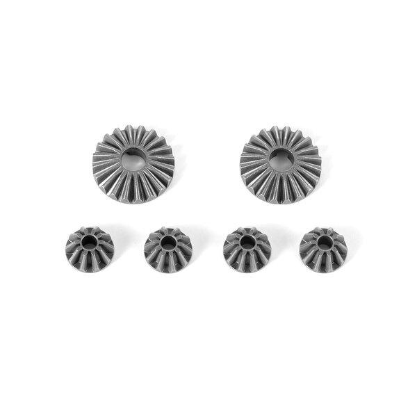 STEEL DIFF BEVEL & SATELLITE GEARS - V2 (2+4)