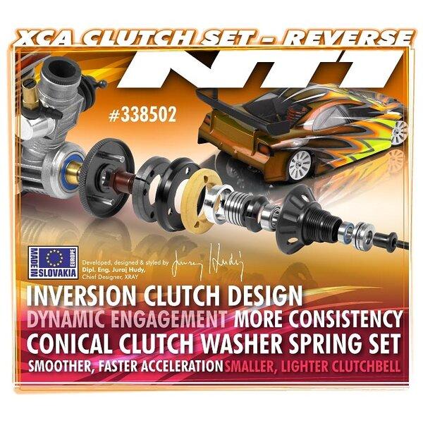XCA (XRAY CENTRIFUGAL-AXIAL) CLUTCH SET - REVERSE