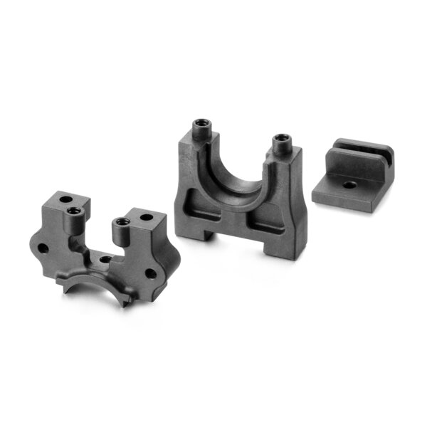 CENTER DIFF MOUNTING PLATE SET - GRAPHITE