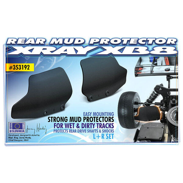 XB8 COMPOSITE REAR MUD PROTECTOR (L+R)