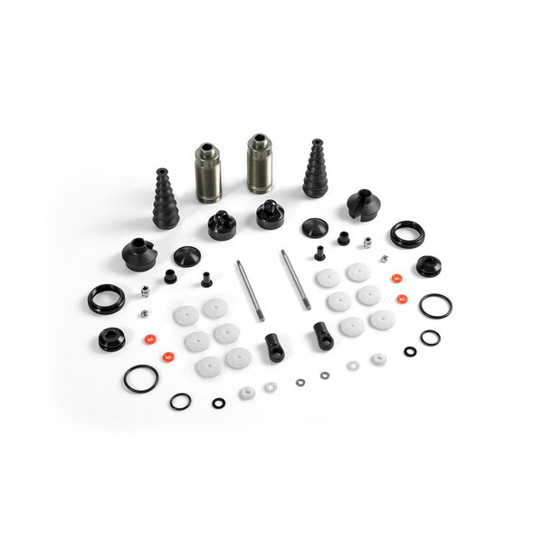 XB8 FRONT SHOCK ABSORBERS + BOOTS COMPLETE SET (2)