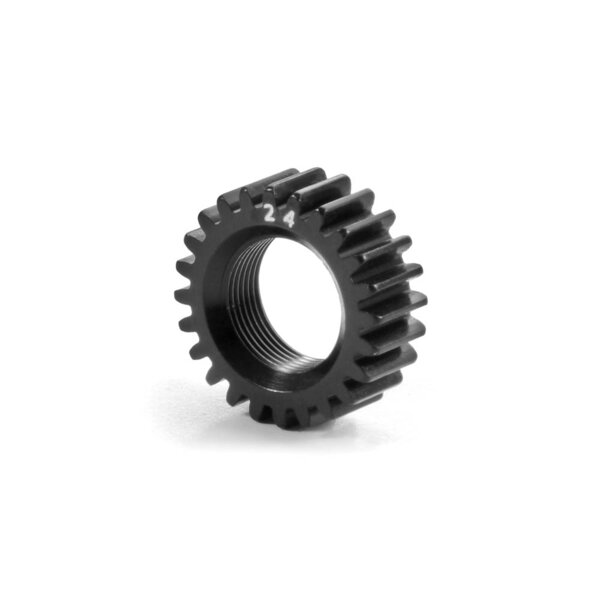 XCA ALU PINION GEAR 24T (2ND) - 7075 T6 - HARD COATED - LARGEXCA ALU PINION GEAR 24T (2ND) - 7075 T6 - HARD COATED - LARGE