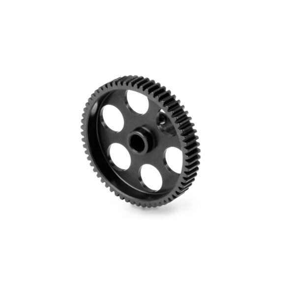 ALU ULTRA-LIGHT PINION GEAR - HARD COATED - 60T / 64