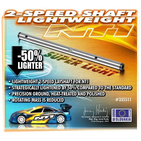 2-SPEED SHAFT - LIGHTWEIGHT