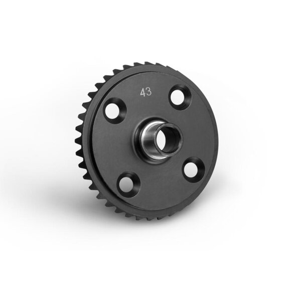 FRONT/REAR DIFF LARGE BEVEL GEAR 43T
