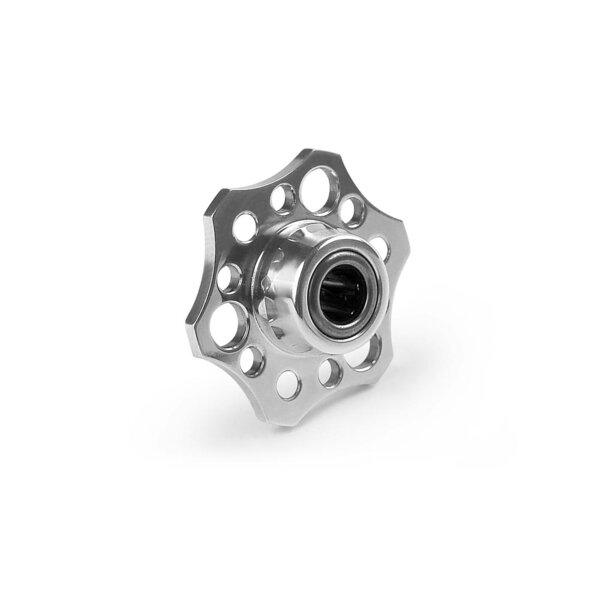 ALU LIGHTWEIGHT DRIVE FLANGE WITH ONE-WAY BEARING - 7075 T6