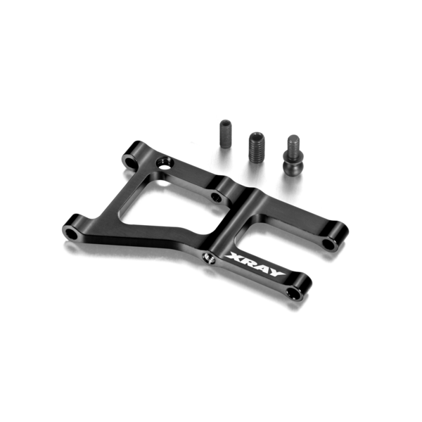 ALU FRONT SUSPENSION ARM - 1-HOLE - SWISS 7075 T6