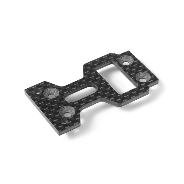 GTXE GRAPHITE CENTER MOUNTING PLATE 2.5MM