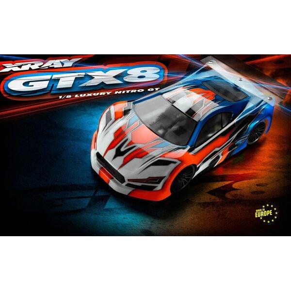 XRAY GTX´22 - 1/8 NITRO ON-ROAD GT CAR