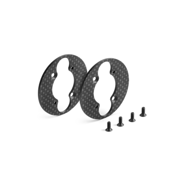 GRAPHITE FRONT AERODYNAMIC DISC 1.6MM - LEFT+RIGHT - SET