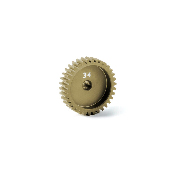 ALU PINION GEAR - HARD COATED 34T / 48