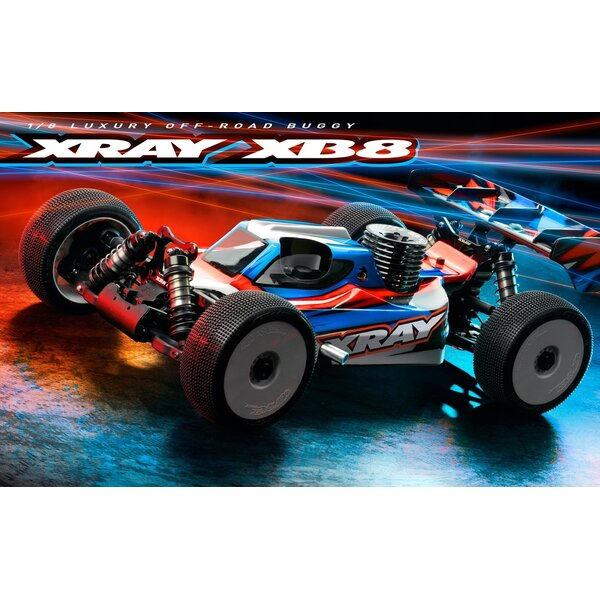 XRAY XB8'21 - 1/8 NITRO OFF-ROAD CAR