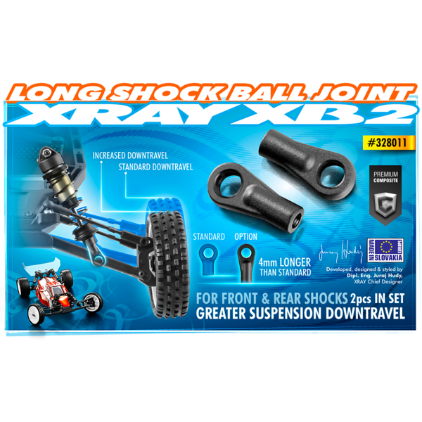 SHOCK BALL JOINT 21MM (2)