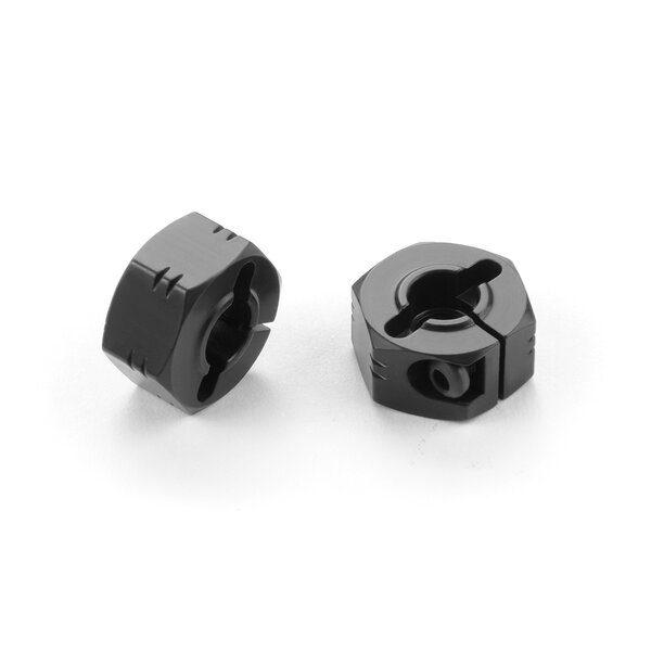 "ALU WHEEL HUB - OFFSET ""+1.5MM"" - BLACK (2)"