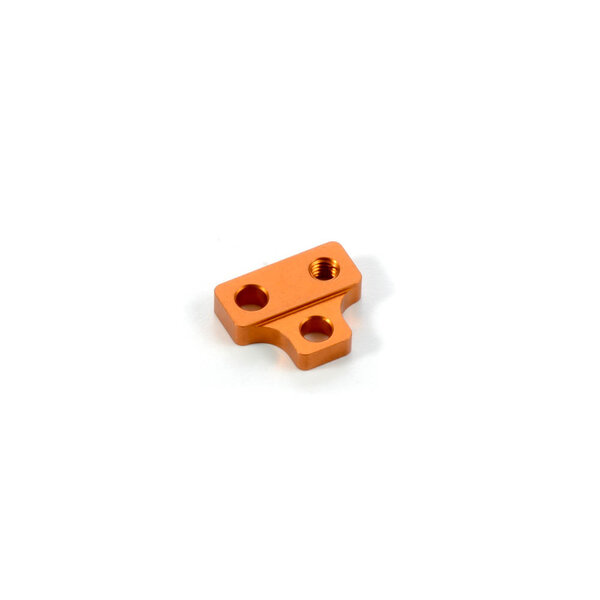 T4'15 ALU MOTOR MOUNT PLATE - ORANGE
