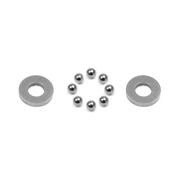 CARBIDE BALL-BEARING AXIAL 2.5x5.4x0.8