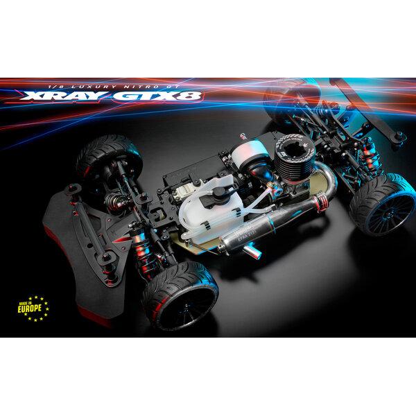 XRAY GTX´21 - 1/8 NITRO ON-ROAD GT CAR