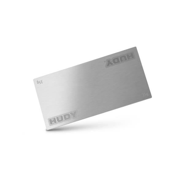 HUDY STAINLESS STEEL BATTERY WEIGHT 35G