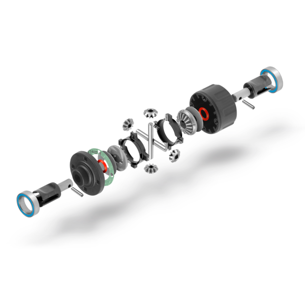 XRAY XB4 ACTIVE DIFFERENTIAL - FRONT/REAR - SET