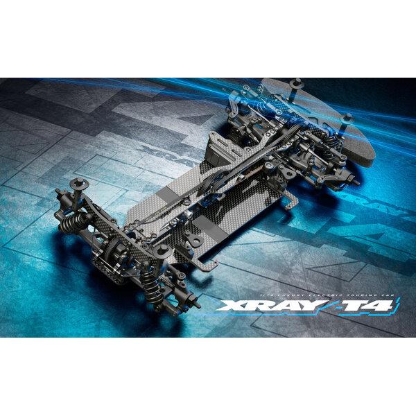 XRAY T4'21 - GRAPHITE EDITION - 1/10 LUXURY ELECTRIC TC