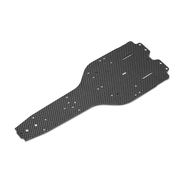X1'19 GRAPHITE CHASSIS 2.5MM - HARD