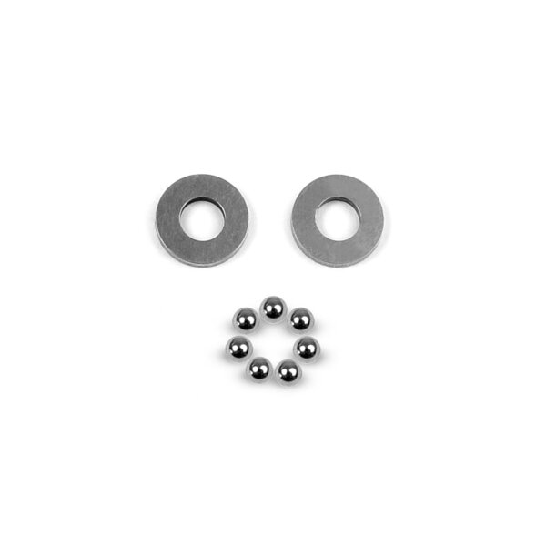 BALL-BEARING AXIAL 2.5x5.4x0.8