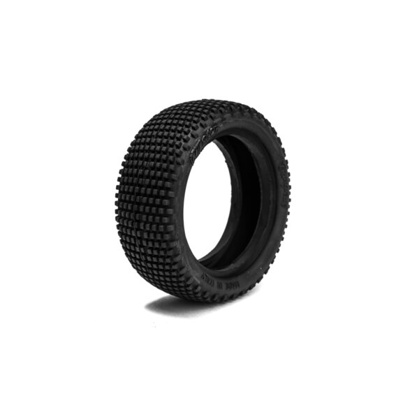 1/10 BUGGY TIRES 4WD FRONT (2 tires + 2 inserts)