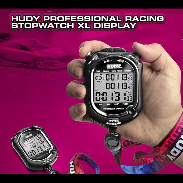 HUDY PROFFESIONAL RACING STOPWATCH XL DISPLAY